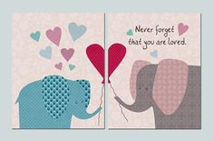 Never forget that you are loved.8x10 Nursery Art by BestPatternArt, $20.00