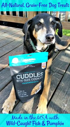 Cuddles are all-natural, grain-free and made in the USA by The Honest Kitchen #sponsored Dog Mom | Dog Products | Life with Dogs | All Natural | Dog Treats