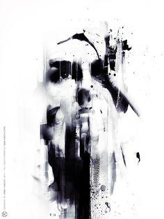 2014.321 © Jarek Kubicki '2014photography / speedpainting, ink