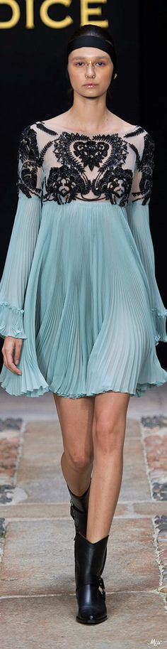 Spring 2018 RTW Mario Dice = Super CUTE, Modern Update on the Babydoll Dress!!...