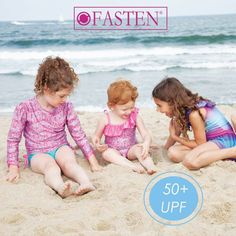 Love the ease of #FASTEN? Did you know our suits are UPF 50+ too? Be faster. Be sun safe. Be FASTEN. 🌞 🌞 #UPF #SPF #sunsafe #swimsuit #girlswimsuit #bathingsuit