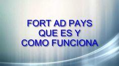 FortAdPays|Que Es y como Funciona Derrota la Crisis Afiliados: (En construccion) Registro en: https://www.fortadpays.com/index.php?ref=19486 Suscribete: http...