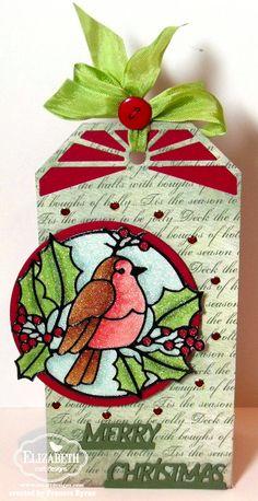 Elizabeth Craft Designs: Peel Off Sticker and Microfine Glitter
