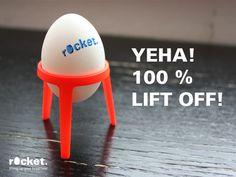 rocket. lifting up your breakfast by Sebastian Frank, via Kickstarter.