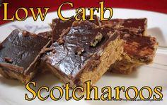 Low-Carb Scotcharoos