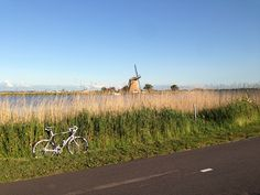 Riding in Holland