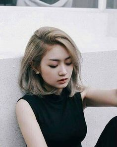 Image result for bob hair round face malay