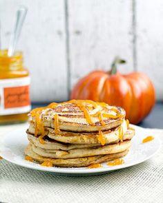 Pumpkin Swirl Pancakes