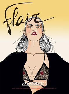 Artist Liselotte Watkins at Illustration Division