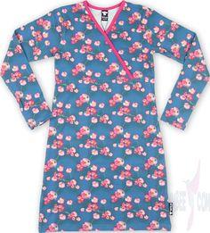 WILD Macey Dress V-neck pink anjer GIRL