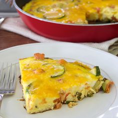 Eggs are a great way to start your day! This delicious frittata recipe is packed with savory seasonings and fresh garden vegetables.