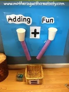 Adding Fun!  An easy and fun way for kids to practice addition! CCSS.MATH.CONTENT.K.OA.A.1 Represent addition and subtraction with objects, fingers, mental images, drawings1, sounds (e.g., claps), acting out situations, verbal explanations, expressions, or equations.