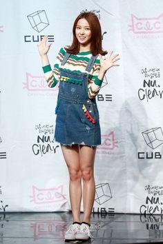 #CLC #Yoojin - 4th Mini Album 'Nu. Clear' Showcase
