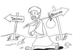 Jonah going to Tarshish instead of Nineveh (Jonah 1)