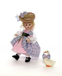 Mother Goose. $67.96 She loves that goose so much she has given it a bow that matches her dress. That way everyone will know just who that silly old goose belongs to!