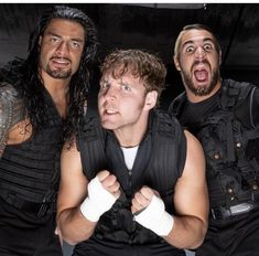The Shield- Roman Reigns,Seth Rollins, and Dean Ambrose Wwe Dean Ambrose, Seth Freakin Rollins, Seth Rollins, Jonathan Lee, The Shield Wwe, Wwe Roman Reigns, Thing 1, Professional Wrestling, Wwe Wrestlers