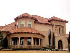 Mediterranean style home Frisco