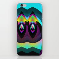 iPhone & iPod Skin featuring BLACK AND BRIGHT by ARTDROID $15.00