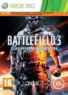 Battlefield 3 Premium Edition War Soldier RPG Shooter Game Microsoft XBOX 360