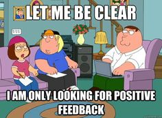 getting Feedback funny - Google Search