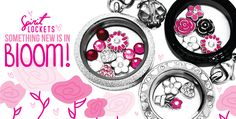 Spirit Lockets - Custom Floating Charm Story Lockets and Bracelets Something New Is In Bloom!