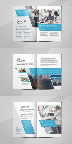 Corporate Brochure Design, Brochure Layout, Business Brochure, Brochure Template, Branding Design, Indesign Templates, Adobe Indesign, Corporate Business, Page Layout Design