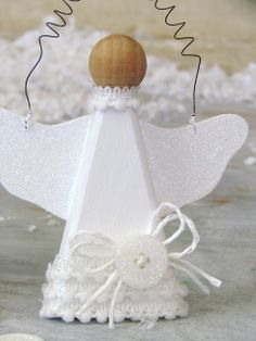 Snow Angel Ornaments...