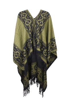 The Kiboots poncho is perfect for chilly summer days