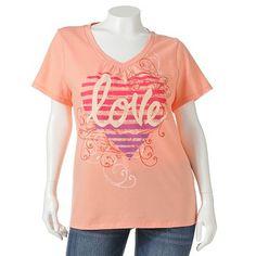 SONOMA life + style Everyday Love Tee - Women's Plus