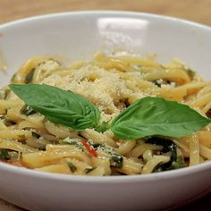 One-Pot Basil Pasta