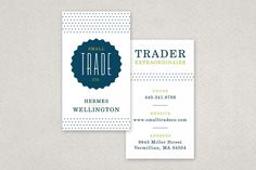 Fun Dotted Business Card Template | Flickr - Photo Sharing!
