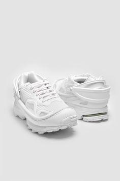 525b027f303b ADIDAS X RAF SIMONS Response Trail 2 All White Sneakers