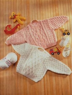 baby aran sweater cardigan baby aran knitting pattern PDF download premature…