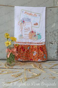 Flour Sack Kitchen Towel  Farmhouse Country by SweetMagnoliasFarm, $18.75