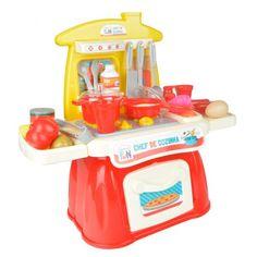 Creative Fun Chef De Cozinha - Multilaser Br679 Descrição A Cozinha Infantil Creative Fun Chef de Cozinha estimula a criança a se conectar com seu mundo, através de brincadeiras criativas promovendo interação social. Tudo para deixar a brinc...