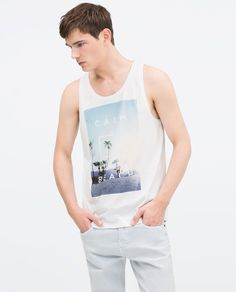 ZARA - BEACH HOLIDAY - CAMISETA SISA
