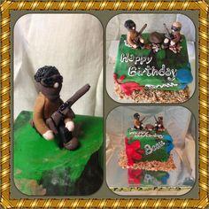 Paintball cake!    http://www.facebook.com/FinishingTouchesByLiz?ref=hl#!/FinishingTouchesByLiz