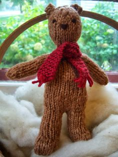 Simply Playing: Finished Project - A Teddy Bear