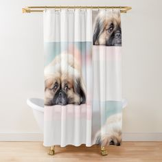 'Funny Masks' Shower Curtain by DeonsDesigns Funny Shower Curtains, Tub, Masks, Art Prints, Printed, Awesome, Products, Art Impressions, Bathtubs