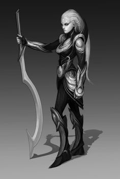 Diana concept. A character from League of Legends. Artwork copyright Riot Games.