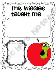 Mr Wiggles library lessons
