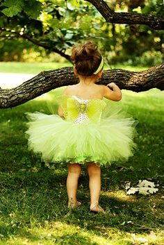 tinkerbell tutu costume for Halloween party