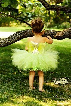 Sweet Little Tink Tutu & Wings Set