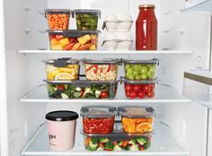 Buy Sistema Brilliance Multi-Purpose Stackable Leak-Proof Container, from our Kitchen Storage range at John Lewis & Partners. Refrigerator Organization, Recipe Organization, Kitchen Organization, Kitchen Organizers, Healthy Fridge, Microwave Heating, Food Storage Boxes, Batch Cooking, Food Containers