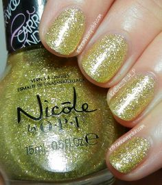 Nicole by O.P.I Carrie Underwood Collection Ruffian Nail Art- Featuring Fisher Queen & Get Carrie'd Away
