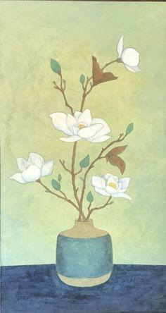 너무 열심히 하시는 민화수업분들! 연화도 마무리 단계에 접어들고 있습니다. 추운날에도 수경화실은 그림... Korean Painting, Chinese Painting, Chinese Art, Painting & Drawing, Watercolor Paintings, Japan Illustration, Asian Paints, Korean Art, Still Life Art