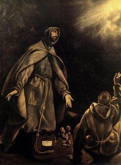 El Greco - The Stigmatization of St Francis - WGA10562 - Stigmata - Wikipedia, the free encyclopedia