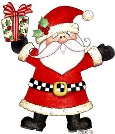 quenalbertini: Santa by Laurie - Clip Art Noel Christmas, Father Christmas, Christmas Signs, Christmas Pictures, Christmas Projects, Vintage Christmas, Christmas Decorations, Holiday Crafts, Christmas Graphics