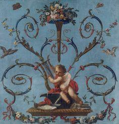 """""""Alegoría de la Música"""", José del Castillo (ca.1775)"""