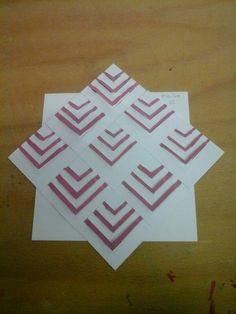 Figuur van papier 3